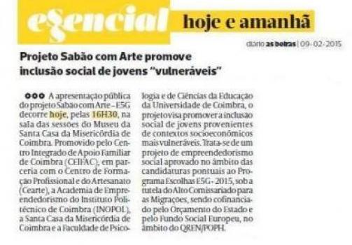 As Beiras 09/02/2015 (edição impressa)
