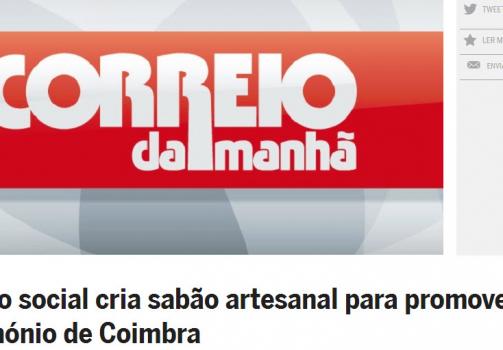 Projeto social cria sabão artesanal para promover património de Coimbra