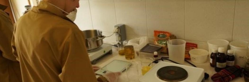 Formação em Fabrico artesanal de sabão (CEARTE)